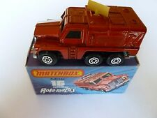 1973 Matchbox Rolamatics Badger No 16