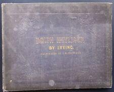 1851 DOLPH HEYLIGER Washington Irving Illustrations John W. Ehninge Putnam NY