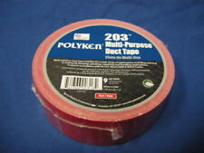 "NEW POLYKEN 203 MULTI-PURPOSE DUCT TAPE RED 1.89"" x 60.1yd X 9 MIL MADE IN USA"