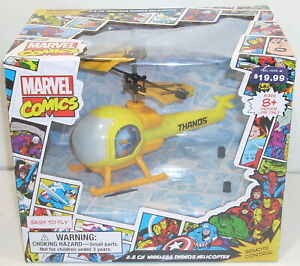Toymaker 2.5 CH WIRELESS THANOS HELICOPTER Sealed NEW Marvel Comics Indoor Use