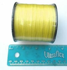 550yds (500m) SUPERLINE 60lb test YELLOW Braid Fishing Line,Durable & Strong,