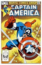 1)CAPTAIN AMERICA #275(11/82)1:BARON ZEMO,II(CAMEO)FALCON(CGC IT)9.6/9.8(HOT)!!!