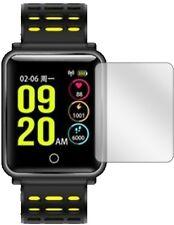 5x Schutzfolie für TagoBee TB06 Smartwatch Display Folie klar Displayschutzfolie