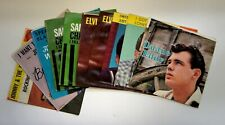 """10 Original 7"""" 45 RPM [Picture Sleeves Only] from 1958-62 All Sold Together!"""