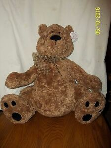 """Gund Heads and Tales Bear Plush 18"""" With Tag"""
