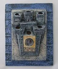 Fantastic Troika Pottery Wall Plaque Pocket By Jane Fitzgerald