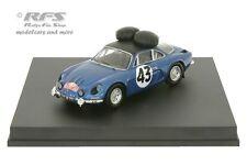 Alpine Renault A110 - Rallye Monte Carlo 1968 - Larrousse - 1:43 Trofeu 0824