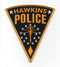 Stranger Things TV Series Hawkins Police Logo Embroidered Patch, NEW UNUSED