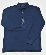 Polo Ralph Lauren Shirt Classic Iconic Mesh Long Sleeve LT 2XB 2XLT Big Tall NWT