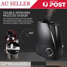 6l Air Humidifier Ultrasonic Cool Mist Steam Nebuliser Purifier Home Sleeping ZZ
