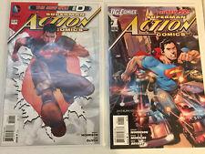 Action Comics 2011 Lot #0-26 plus Annuals 1 & 2