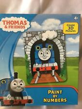 Thomas & Friends Paint By Numbers. BRAND NEW STILL FACTORY SEALED. Age 4+