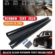 300x50cm VLT Black Car Window Tint Auto Home Windows Glass Tinting Roll Film