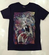 Batman Men's Harley Quinn Star T-shirt Black XL