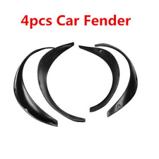 4pcs Carbon Fiber Fender Wheel Arches Flare extension flares wide arches Kit