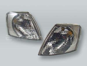 TYC Smoke Corner Lights Parking Lamps PAIR fits 1998-2001 VW Passat