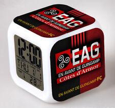 Réveil numerique Digital EA Guingamp Cube à effet lumineux alarme football