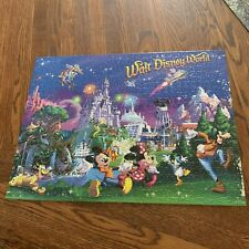 Walt Disney World 18 X 24 Mickey Mouse Classic Puzzle Completed Set