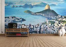 Giant paper wallpaper 366x254cm Rio de Janeiro Brazil wall mural for bedroom