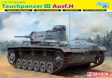 Dragon 1:35 6775: Tauchpanzer Pz.Kpfw.III (T) Ausf.H