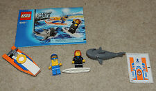 LEGO City Surfer Rescue Set 60011, Complete Minifigs Stickers Manual
