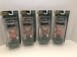 2002 Tiger Woods Upper Deck Tiger Slam Four Different Bobble Heads Play Makers