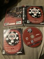 World Series of Poker 2008 Battle for the Bracelets good shape PS3 Playstation 3