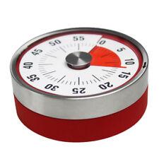 8cm Baldr Stainless Steel Magnets Fridge Kitchen Timer Mechanical Reminder Sport