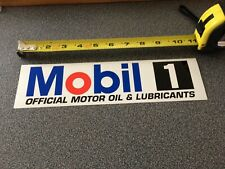 Nascar Authentic Mobil 1 Race Car LARGE Contingency Racing Decals Sticker