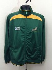 SOUTH AFRICA Rugby World Cup 2011 Newzealand Men Green Sweater Size Large SXS