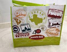 Large Jason's Deli Chicago Atlanta DC Phoenix  Shopping Tote Bag Reusable Eco