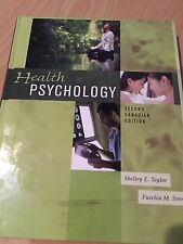 HEALTH PSYCHOLOGY TEXTBOOK: By Taylor & Sirois- 2nd Canadian Edition (Hardcover)