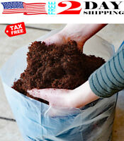 Coco Coir Brick Potting Soil Mix Coconut Palm Garden Plants Seed Cuttings 10 Qt