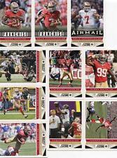 1000 x Lot 2013 Score 49ers 100 of each pictured Kapernick Gore Crabtree Davis