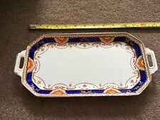 B&K/Barkers & Kent 'Foley' Sandwich tray or cake plate plus small plate