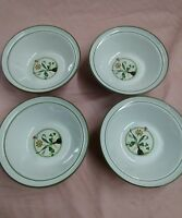 NORITAKE STONEWARE #8347 KERRIE SET OF 4 bowls made in Japan