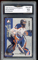 2005 Devan Dubnyk ITG Prospects rookie gem mint 10 #178