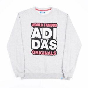 ADIDAS Originals Grey 00s Crew Neck Sweatshirt Boys XL