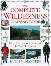 The Complete Wilderness Training Book(Hardcover) by Hugh McManners-Excellent