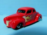 HOT WHEELS FLAMING RED 1940 FORD COUPE BY MATTEL 1:64 DIECAST - 2001 MALAYSIA