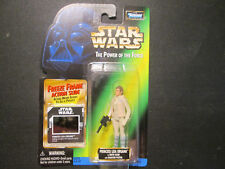 Star Wars Power of The Force Princess Leia Organa in Hoth Gear Freeze Frame