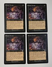 4 x Magic the Gathering MTG Cabal Therapy Judgment Uncommon Play Set