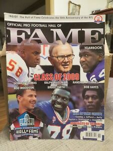 OFFICIAL PRO FOOTBALL HALL OF FAME 2009-2010 YEARBOOK