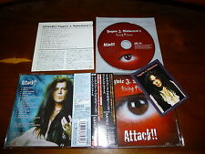 Yngwie Malmsteen / Attack!! JAPAN+1 w/Card PCCY-01582 B2