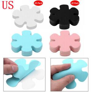 """20x Flower Safety Treads Non-Slip Applique Sticker Tub Strips Floor Mat Decal 4"""""""