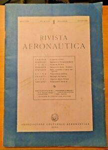 RIVISTA AERONAUTICA N° 1 GEN 1953 - NUOVA SERIE -