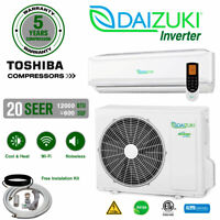 12000 BTU Air Conditioner Mini Split 20 SEER INVERTER AC Ductless Heat Pump 110V