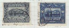 ERITREA 1910-28 USED SC #47-8 PALACE CAT $47.50