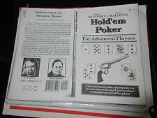 Hold'Em Poker for Advanced Players by David Sklansky and Mason Malmuth , 1993