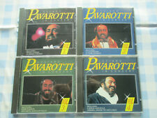 LUCIANO PAVAROTTI IN CONCERT VOLUMES 1,2,3,& 4 - 1992 SUCCESS X4 CD ALBUM SET